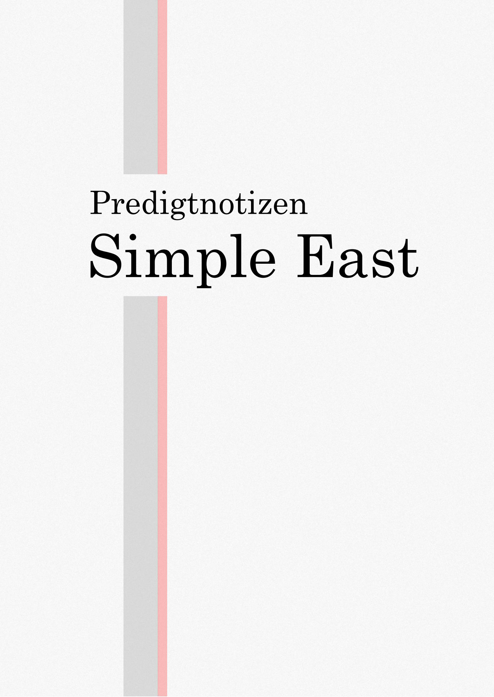 Simple East Titel