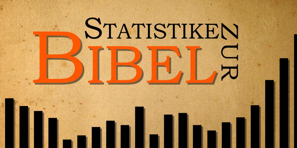 Statistik zur Bibel