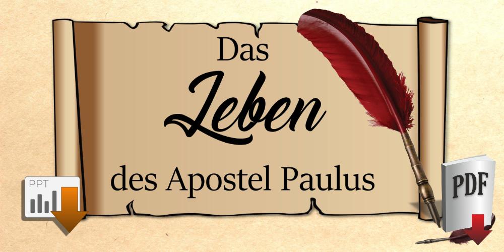 Leben Apostel Paulus