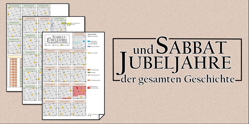 Sabbat und Jubeljahre