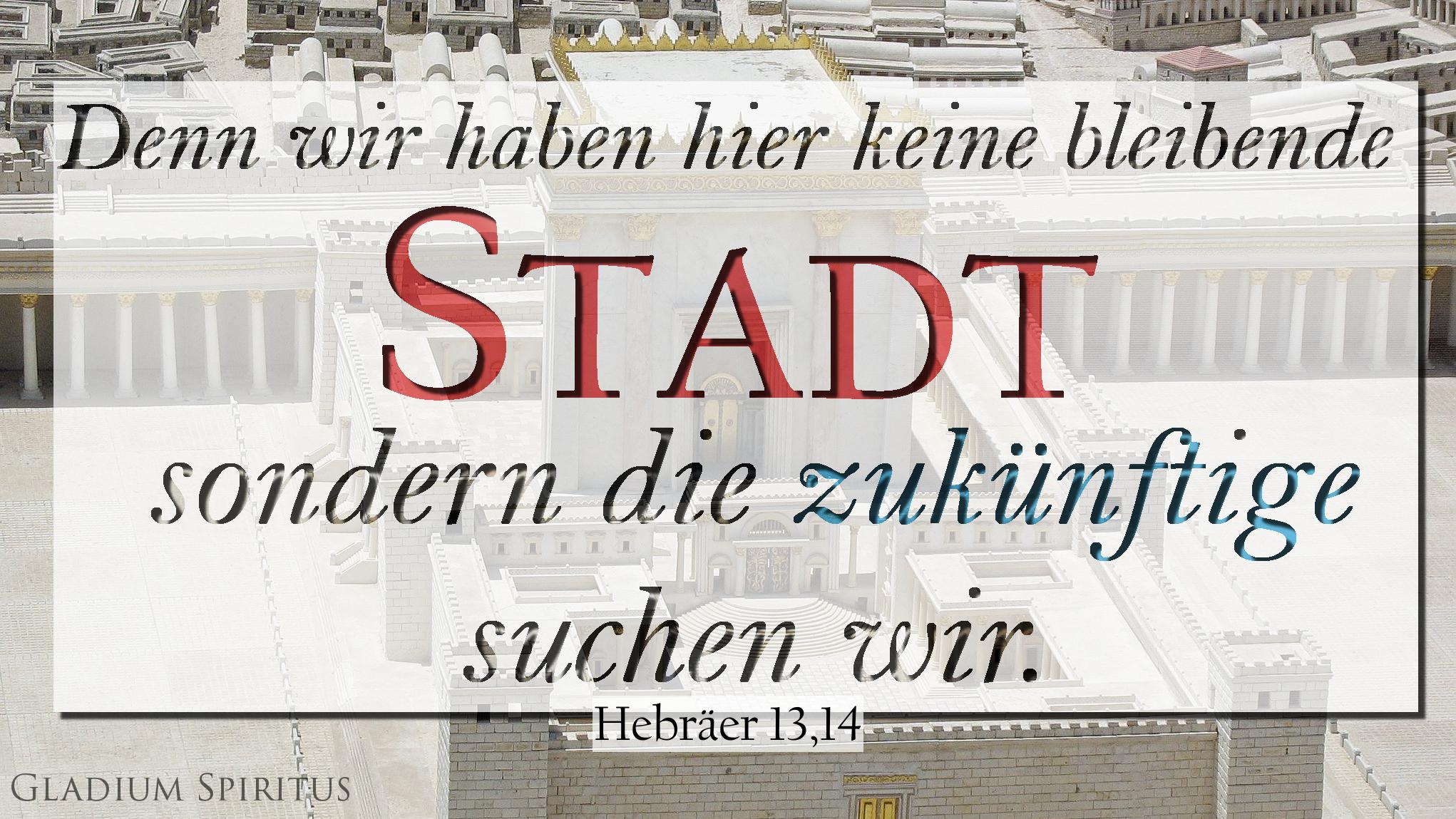Heb. 13,14