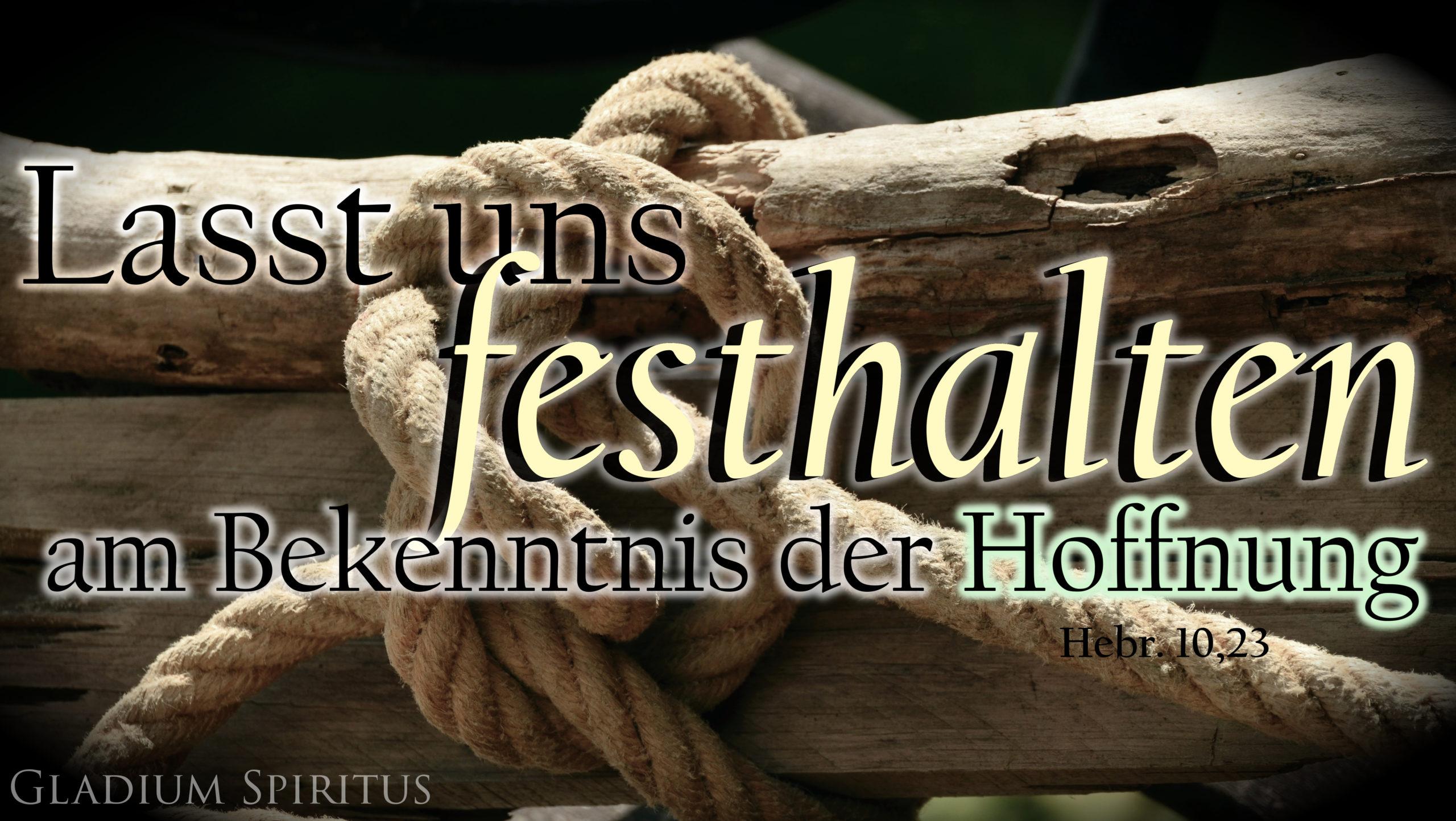 Hebr. 10,23