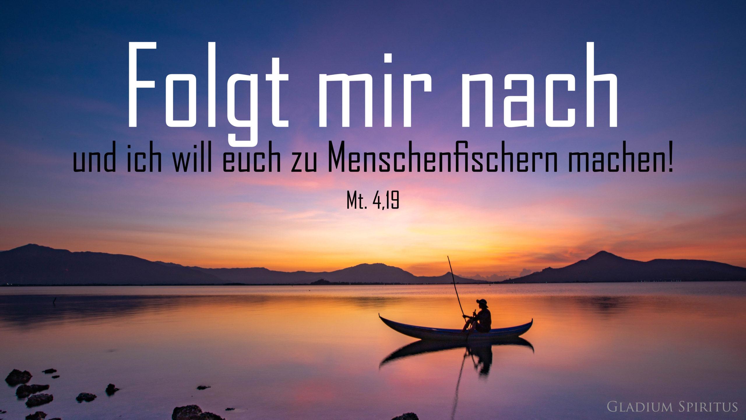 Mt. 4,19