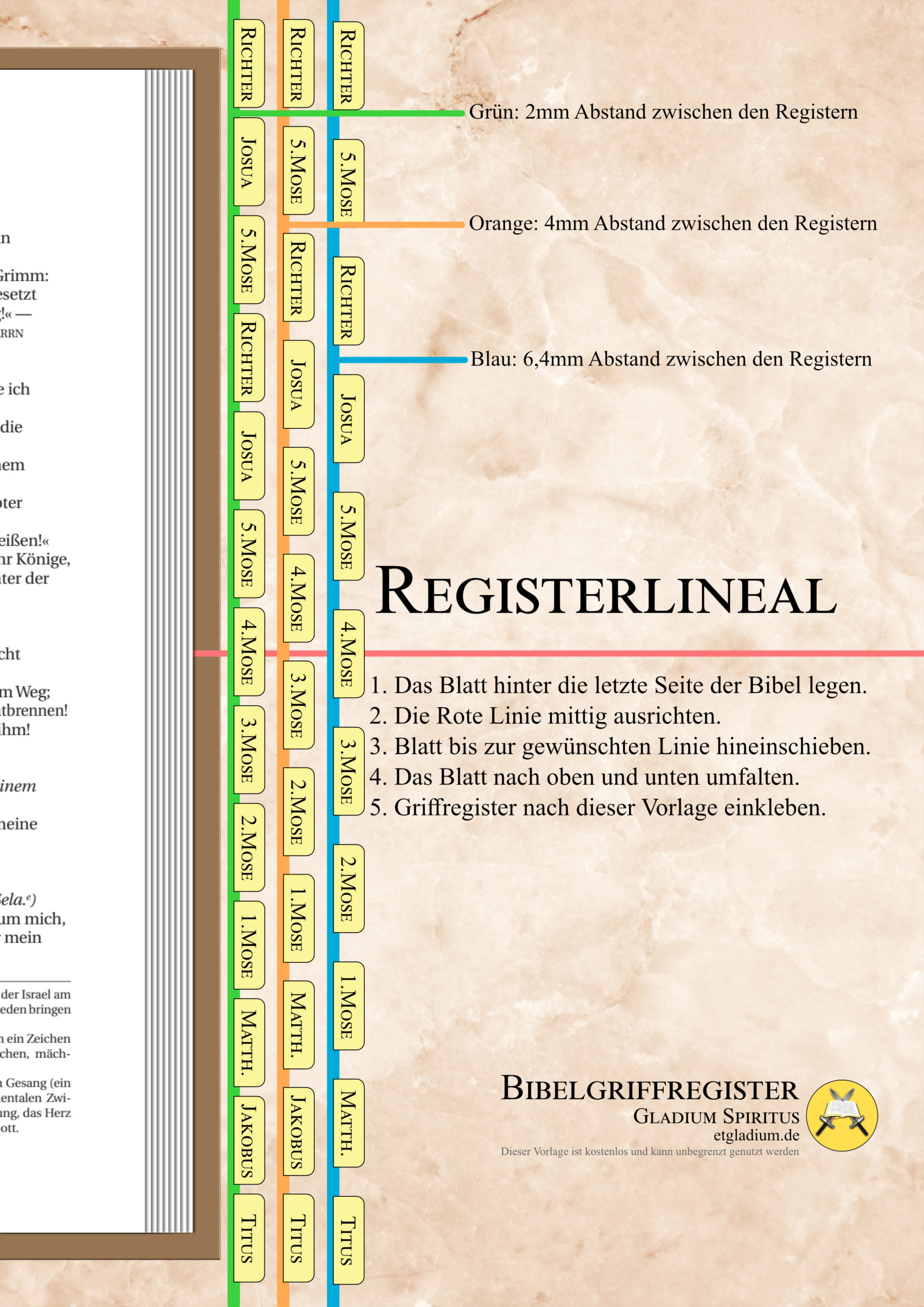 Registerlineal