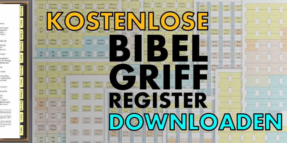 Griffregister Bibel