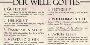Gottes Wille